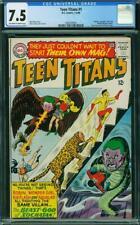 Teen Titans #1 CGC 7.5 DC 1966 Batman Flash Wonder Woman Cameo! L9 201 cm