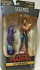 Marvel Legends CAPTAIN MARVEL MCU in BOMBER JACKET 6in Figure BAF Kree Sentry