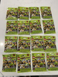 New SEALED Lego Collectible Minifigures Series 3 8803 Complete set of 16
