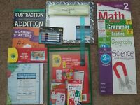 Second Grade: Homeschool Curriculum Math, Grammar, Reading, Science & History