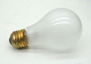(2-Pack) Satco S3954 Incandescent 100-Watt Frosted Lamp Light Bulb 100W 130V