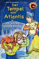 Der magische Stein - Der Tempel von Atlantis von Jens Sc...   Buch   Zustand gut