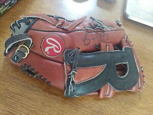"VTG RBG2131R Rawlings Cal Ripkin Jr 2131 Games Leather 12.5"" Fastback rare"