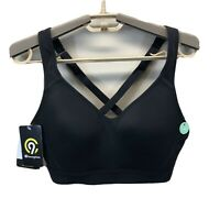 Womens C9 Champion Lightweight Power Shape Sports Bra Black M
