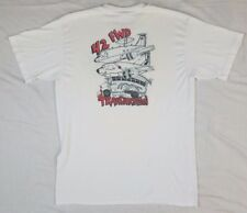 4.2 Forward DRUG INTERDICTION USAF Special Forces Puerto Rico Vtg T Shirt 1980s