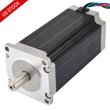 Nema 23 Stepper Motor Bipolar 3Nm(425oz.in) 3.5A 114mm Length 4 Wires CNC Router