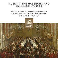 NIKOLAUS HARNONCOURT - MUSIC AT THE HABSBURG AND MANNHEIM COURTS  4CD NEU BACH