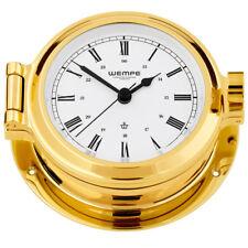 Wempe Horloge de Yacht Hublots Navire Nautique laiton Ø 120mm - chiffres Romains