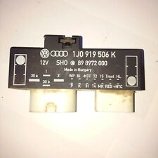 OEM GENUINE AUDI SKODA SEAT VW RADIATOR FAN CONTROL RELAY MODULER 1J0919506K