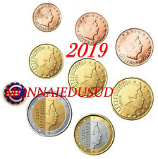 Série 1 Cent à 2 Euro Luxembourg 2019 - Série UNC