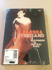 Barbra Streisand - A Happening in Central Park Sealed New OOP 1967 Show On DVD