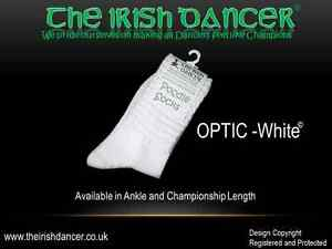 White Ankle Length Poodle Socks OPTIC White - Ultra Low