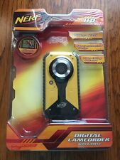 Nerf Digital Camcorder Yellow 720P 5.1MP 38056 Rubberized Design