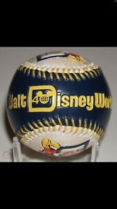 Walt Disney Official Baseball Mickey Mouse Ball 40th Anniversary Limited Edition