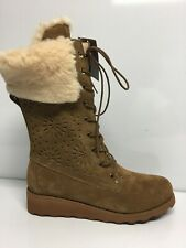 Bearpaw Womens Kylie Hickory Fashion Boots Size 11