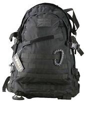 Black Spec Ops Pack 45 Litros, Bolso Mochila Molle Militar Mochila Ejército