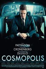 Cosmopolis movie poster  : Robert Pattinson : 12 x 18 inches