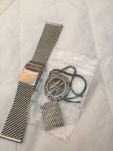 Breitling SuperOcean Heritage chain link bracelet strap for 46mm A17320