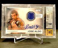 Beckett Grade (9) 2012 Topps UFC Knockout Relic Autograph #78/150 JOSE ALDO 🔥🔥