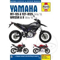 Yamaha WR 125 X 2009 Haynes Service Repair Manual 6009