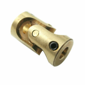 1Pcs Brass Compact RC Boat Universal Joint Coupling U-Joint 3 x 3mm