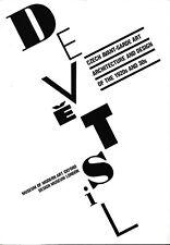 Devetsil Ceco Avant-garde ARTE ARCHITETTURA + Design di 1920s 1930s Karel Teige