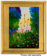 Natasha Petrosova   Original Oil  Modern Painting Trees Flowers Sky 58594
