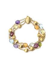 Marco Bicego 18k Yellow Gold And Quartz Confetti Gemme Bracelet BB1154-MIX01