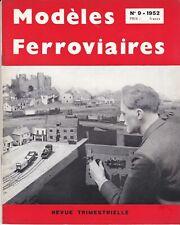 revue modéles ferroviaires n°9  (1952)