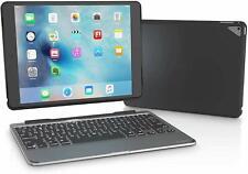 "ZAGG iPad Pro 9.7"" Slim Book Wireless Keyboard Case Cover Backlit Keys Black"