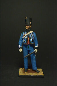 Tin soldier figure Cuirassier Guard Officer 54 mm