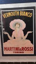 MANIFESTO PUBBLICITARIO VERMUTH MARTINI