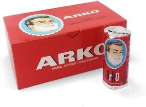 EVYAP 6X Arko Shaving Soap Sticks 75g 👌 - Smooth Lather