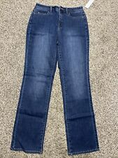 NWT COLDWATER CREEK CLASSIC FIT STRAIGHT LEG NEW DESIGNER WOMENS SIZE 4