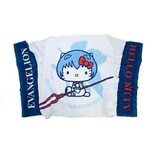 Evangelion X Hello Kitty Bath Towel Blue Rei Ver