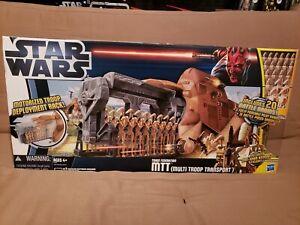 Hasbro Star Wars Clone Wars Trade Federation MTT Multi Troop Transport *NIB*