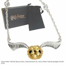 The Golden Snitch Necklace and Chain. Harry Potter Noble Collection.