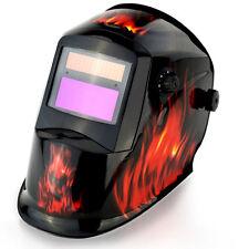 Rossi WH8000-FIRE Solar Auto Darkening Welding Helmet