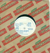 BACCARA - YES SIR I CAN BOOGIE (RHODESIA/ZIMBABWE RCA 42-782) WHITE LABEL PROMO