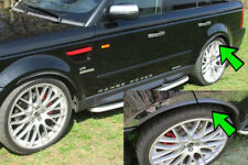 für BMW E71 E72 E82 2 x Radlauf Verbreiterung Kotflügelverbreiterung Leisten 43c