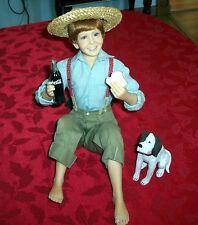 2001 RARE STANTON ART COCA COLA BAREFOOT BOY LIMITED EDITION DOLL FIGURINE