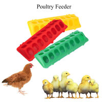 Flip-Top Farm Feeding Tool Pigeons Trough Poultry Feeder Water Dishes Dispenser