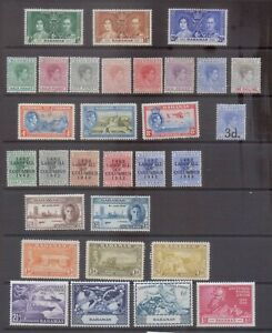 Bahamas George VI Mint Collection