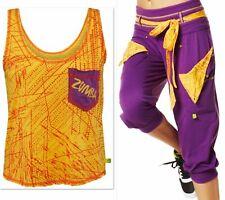 ZUMBA 2PIECE SET!! Do it for Fame Capri Pants + Guided Shirt Top Tank EliteZWear