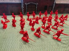 AIRFIX FRENCH LINE INFANTRY 1/32 IN RED! VERY RARE A COMPLETE SET OF 29