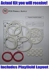 1971 Gottlieb Playball Pinball Rubber Ring Kit