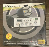 BRAND NEW Midland 5001Z 40 Channel Mobile CB with Switchable Noise Filter
