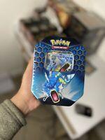 Pokemon TCG: Hidden Fates Tin - Gyarados GX Brand New + Sealed 🇬🇧🇬🇧