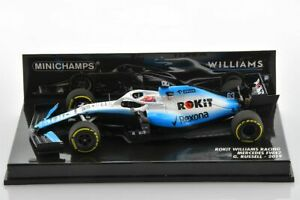 F1 WILLIAMS FW42 #63 George Russell 2019 1/43 MINICHAMPS 417190063