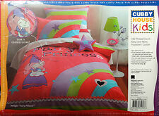 KIDS QUILT COVER SET - FAIRY PRINCESS - LADELLE CUBBY HOUSE